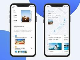 app页面