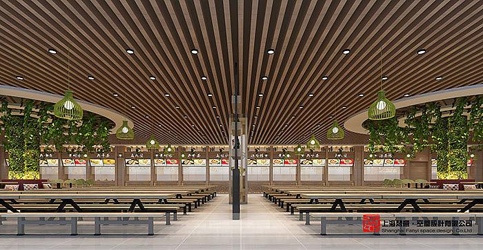 大学餐厅设计/大学食堂设计——河南工贸餐厅图片