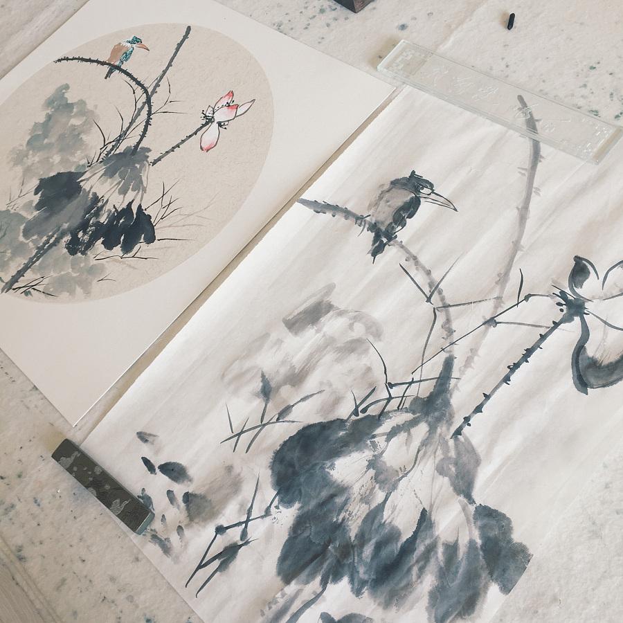 国画 || 花鸟 · 斗方小品图片