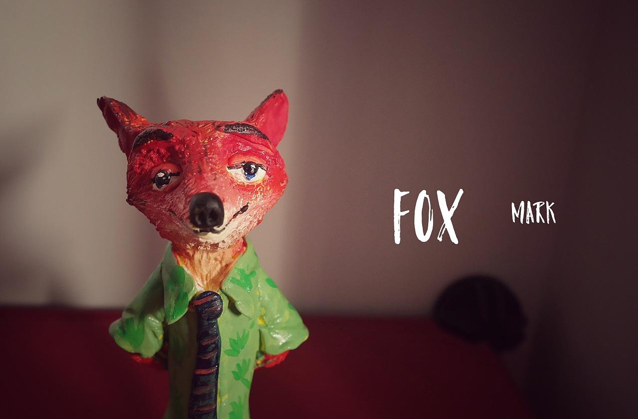 fox 疯狂动物城|手工艺|其他手工|mark安然 - 原创