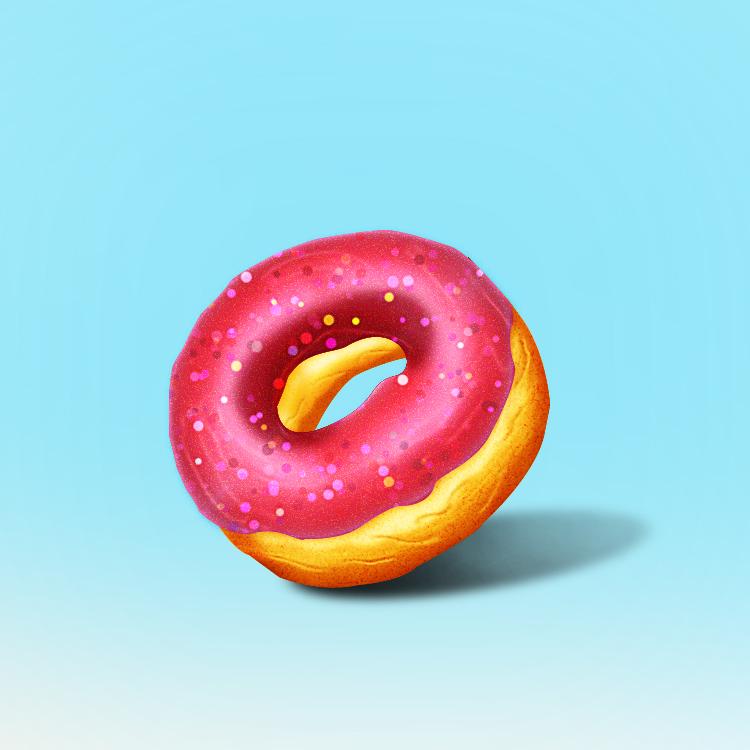 不是甜甜圈|其他GUI|UI|我临摹键盘手-原创v键盘广告设计先学什么软件图片