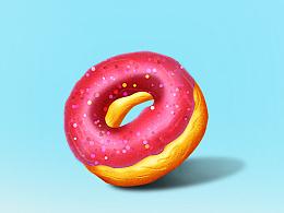 临摹甜甜圈