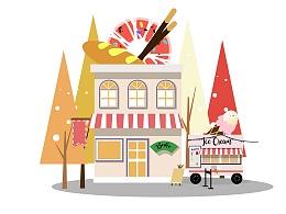 街角的甜品店