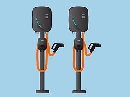 新型的国标充电桩外观设计公司_白狐设计