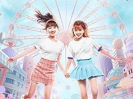 WISEMIND - QQ炫舞闺蜜节系列海报