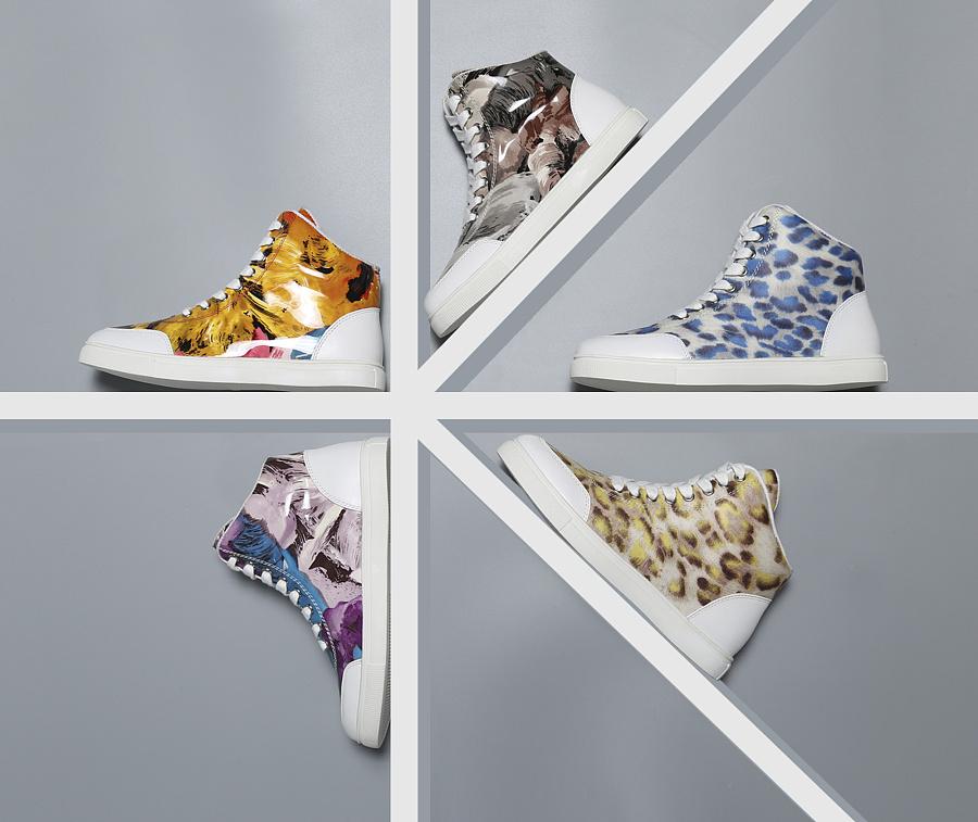 鞋子创意图|产品|摄影|空楼ken图片