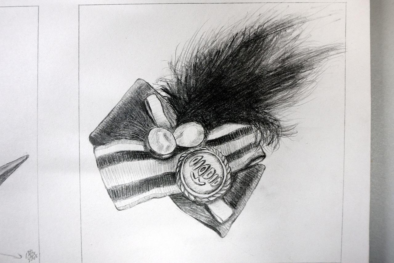 [临摹]手绘素描 - 徽章
