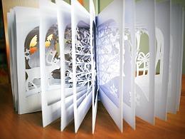 元旦 圣诞都快乐 送你一本360度的立体书
