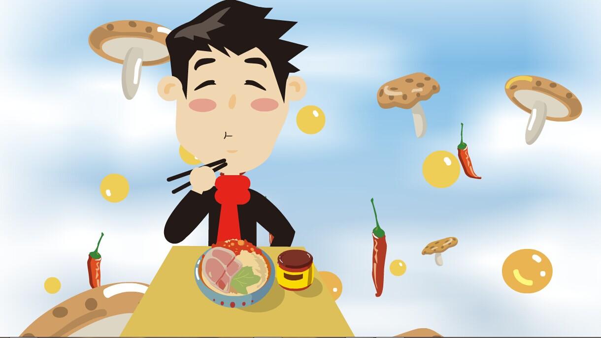 餐餐好心情 动漫 动画片 zycdds - 原创作品 - 站酷图片