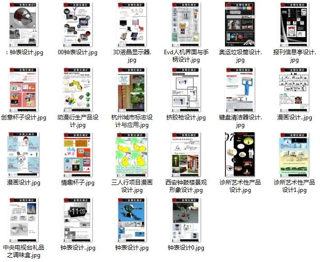 创意 产品设计 展板图片