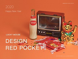 WATCHERS | 「鼠运亨通」红包设计