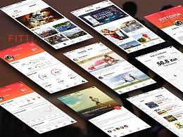 UI设计丨设计作品集下载 UI面试作品集资源分享