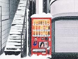 百图斩 - day11 冬天的札幌