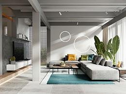 现代简约,高级色彩感空间设计!