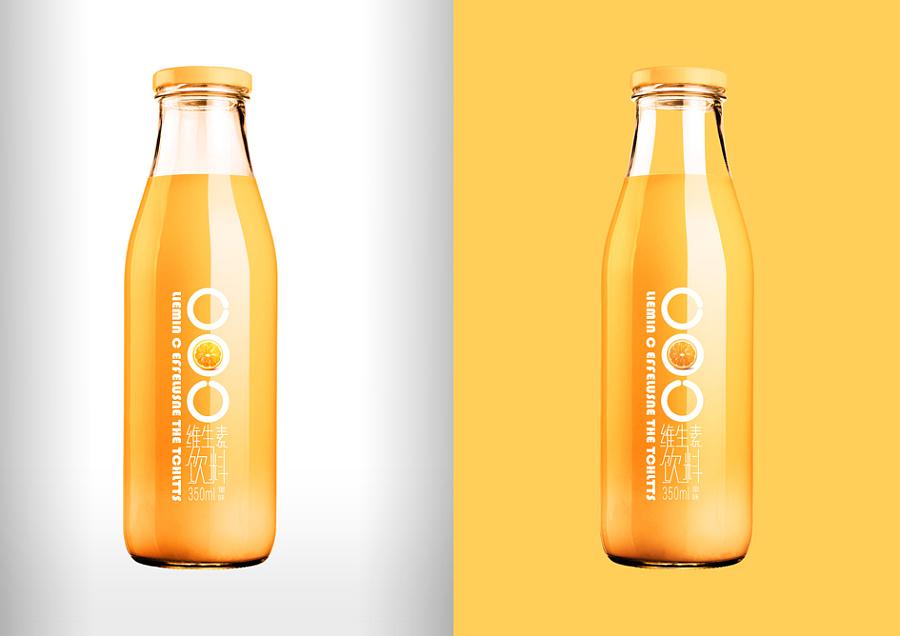 原创作品:果汁饮料包装