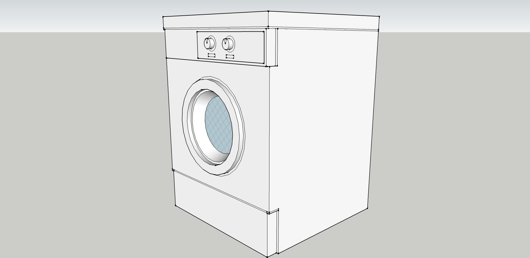 手工制作大全图片洗衣机