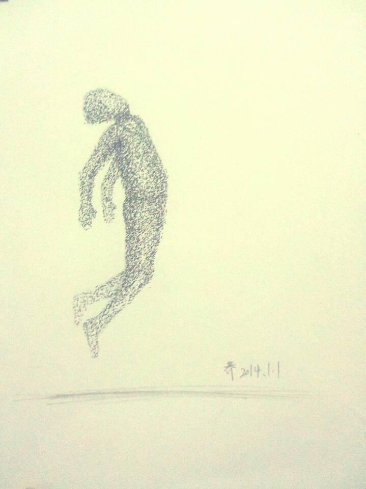那一瞬间的灵魂 插画 涂鸦/潮流 木子旁 - 原创作品