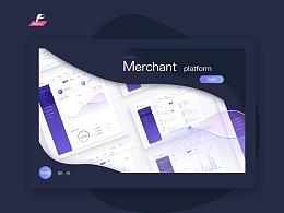 Merchant platform  Web  界面设计
