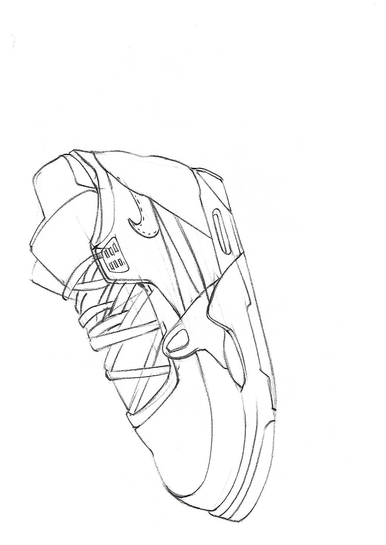 手绘线稿 我是 庐山黑帽学员!|工业/产品|生活用品