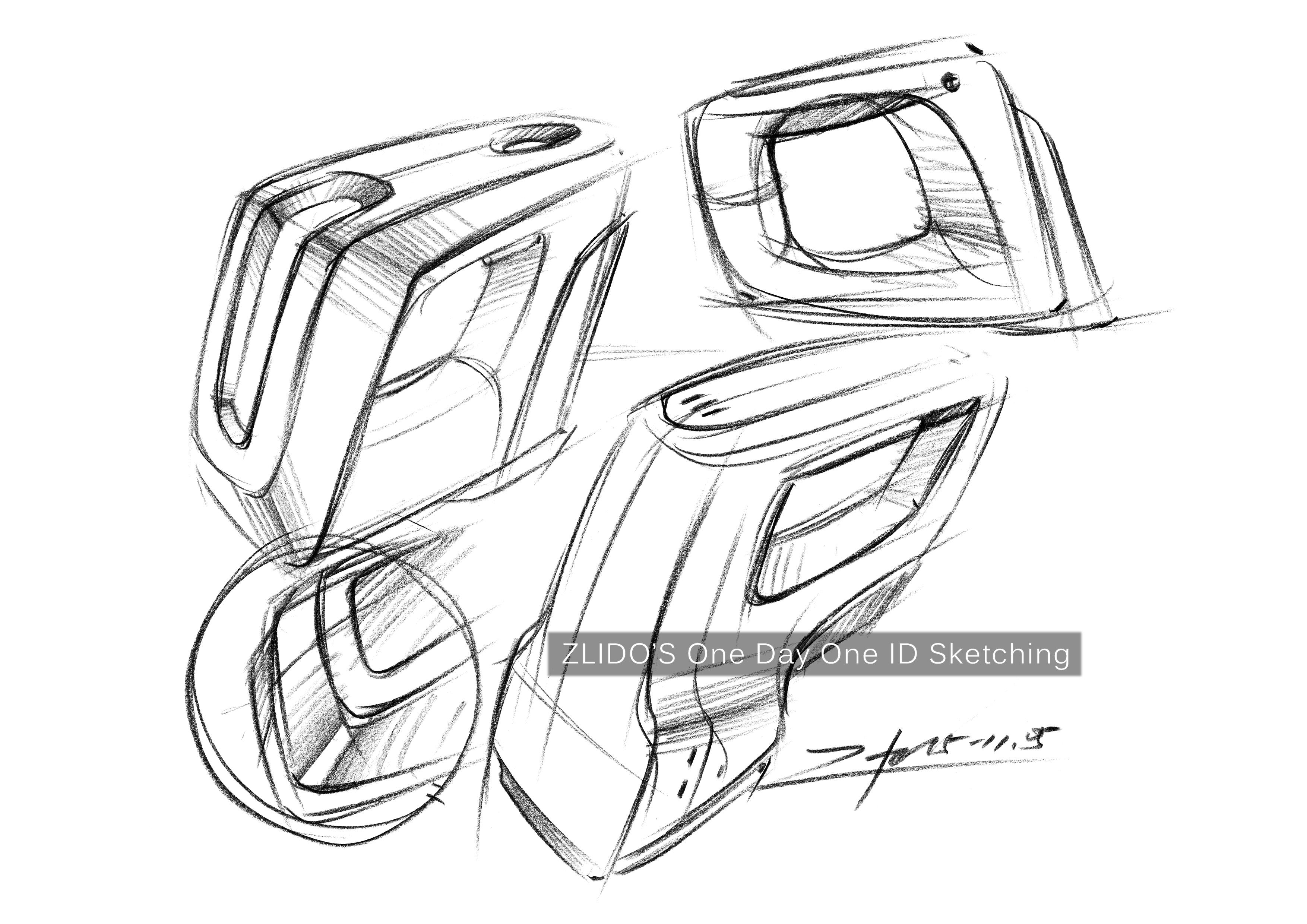 2015产品设计手绘11月 一日一画 |工业/产品|其他工业