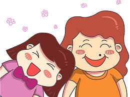 母亲节-四格漫画