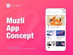 Muzli App Concept