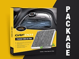Car air conditioning filter