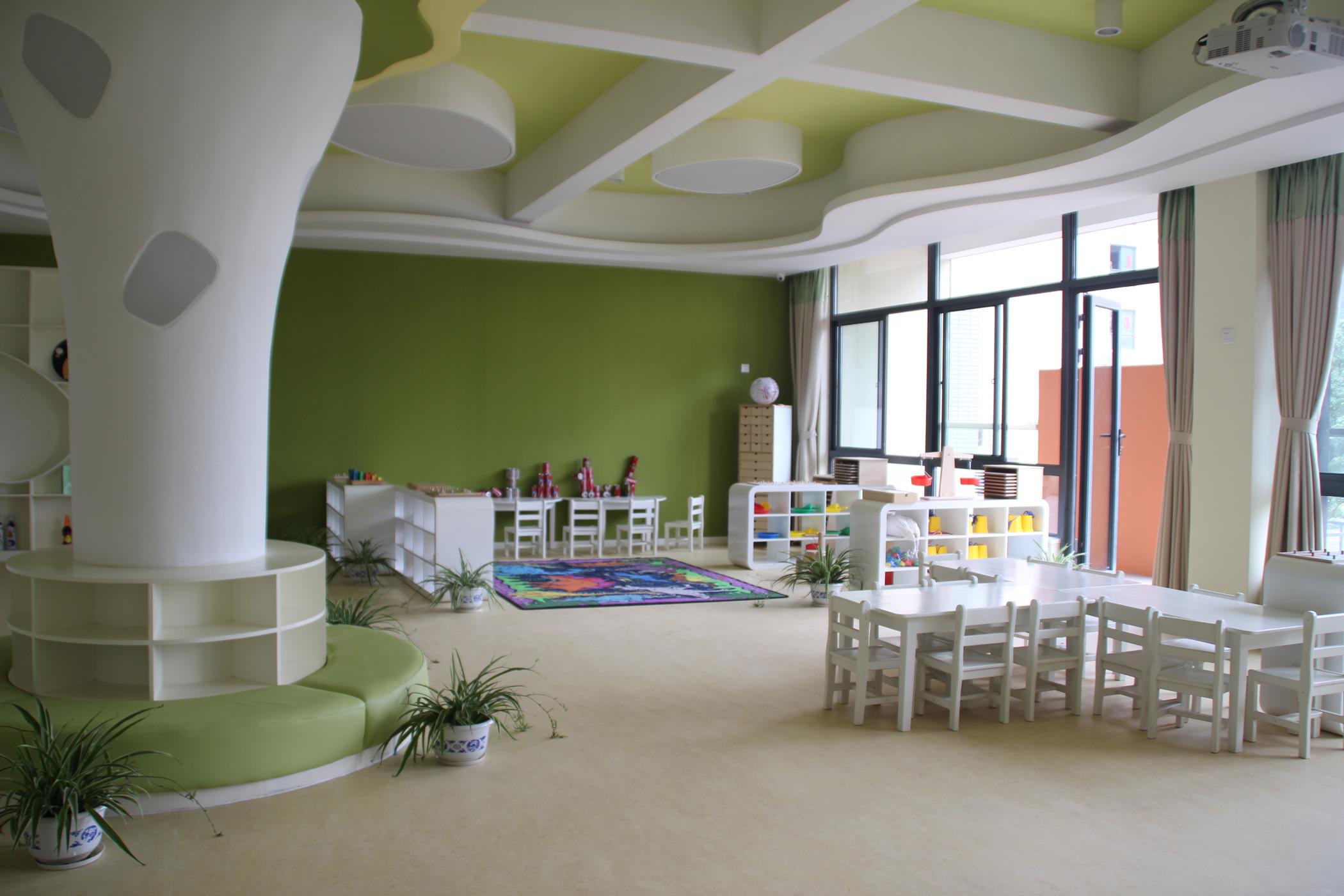 成都幼儿园教室设计图片-成都幼儿园设计公司图片