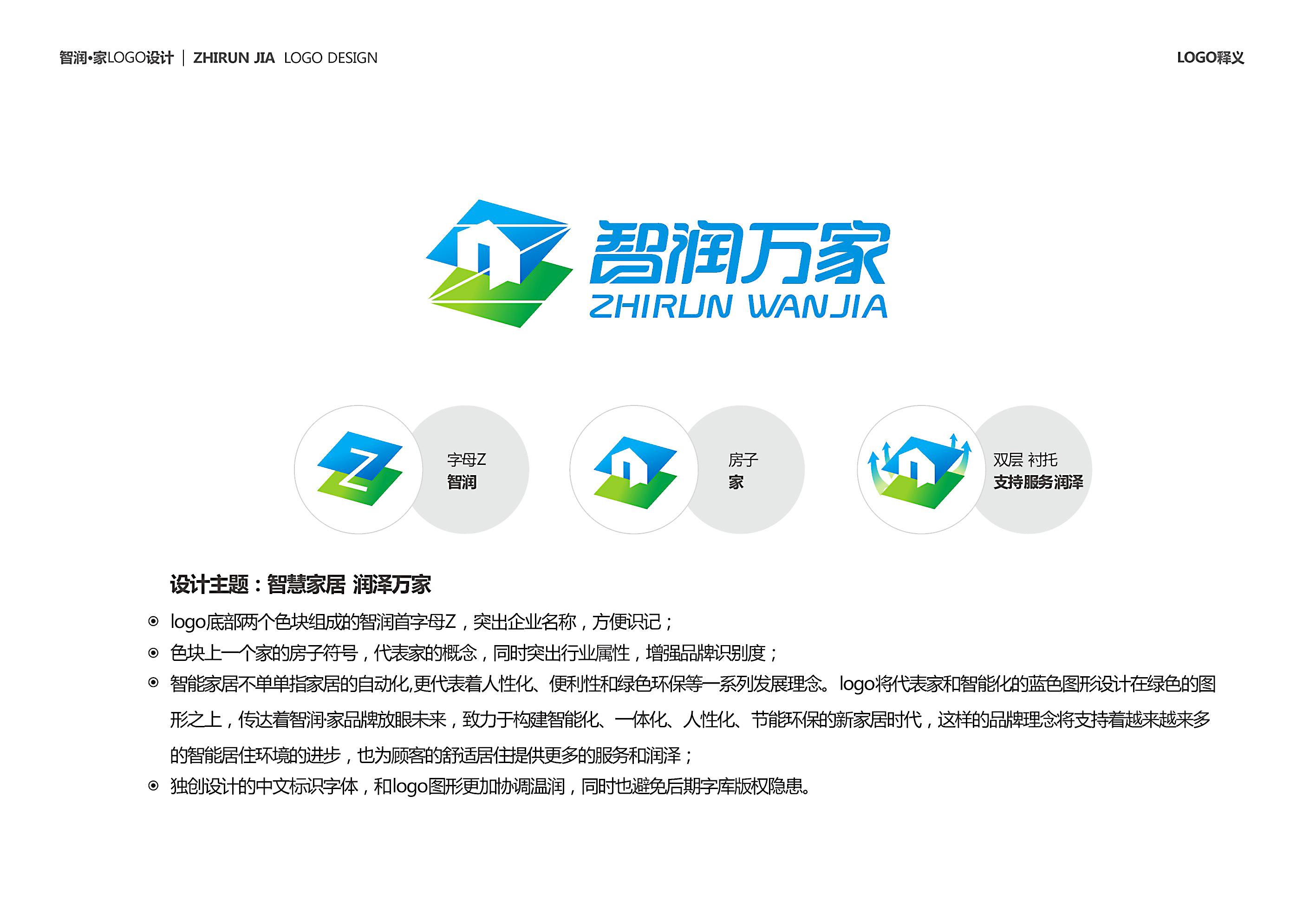 智能家居logo设计图片