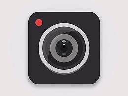 扁平化相机icon