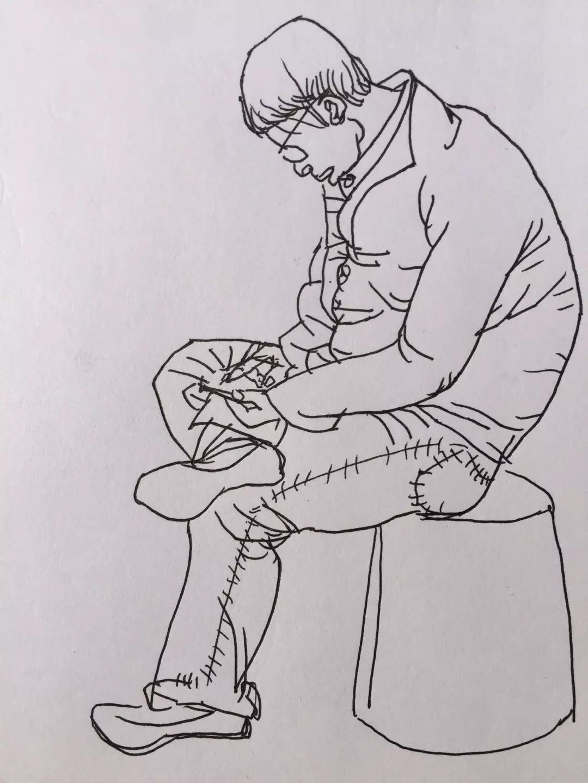 2015年街头人物动态速写写生