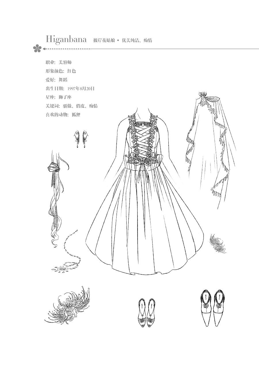 查看《【花花姑娘·倒影】彼岸花姑娘,时光发亮》原图,原图尺寸:2481x3508
