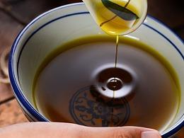 菜籽油 胡麻油拍摄 北邦视觉设计