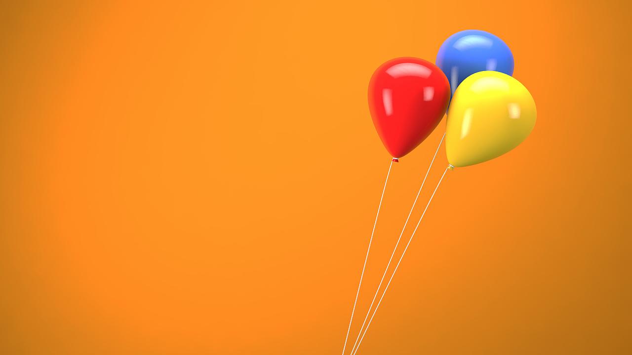 c4d | 缤纷气球建模 | 附视频教程