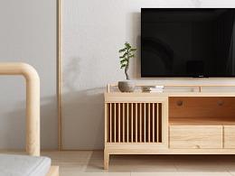 新中式家具表现
