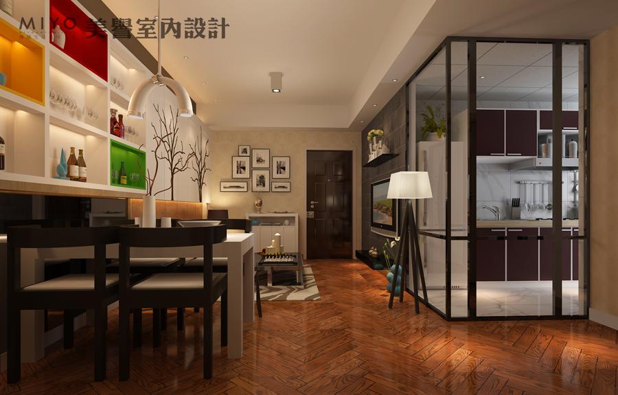 50平米巢公寓室内设计(一品尚都50平方小户型家装设计