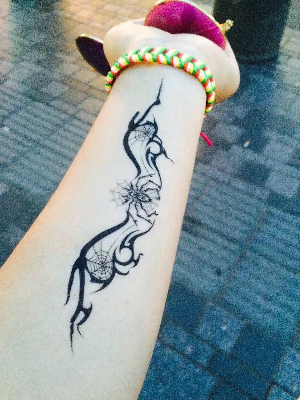 纹身|摄影|人像|果果果果果子 - 原创作品 - 站酷