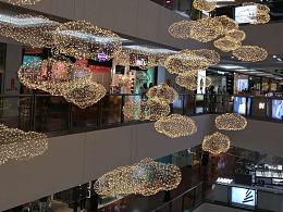 大型铁丝网造型灯专业生产厂家铭星灯饰