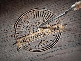 野营logo设计