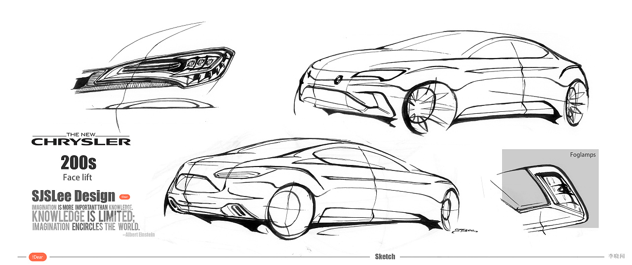 汽车设计手绘练习