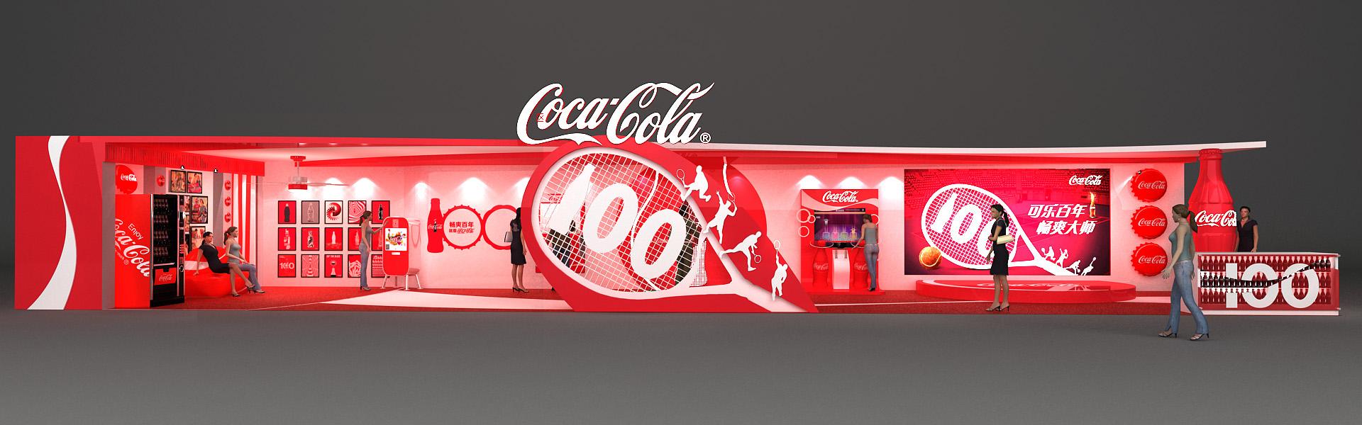 可口可乐百年展|空间|展示设计 |f110blizzard - 原创图片