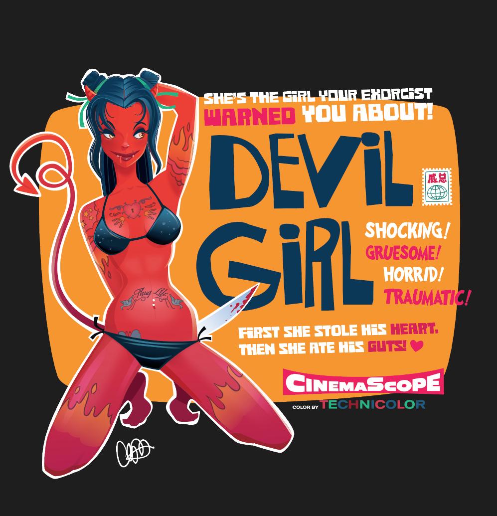查看《Devil Girl》原图,原图尺寸:997x1035