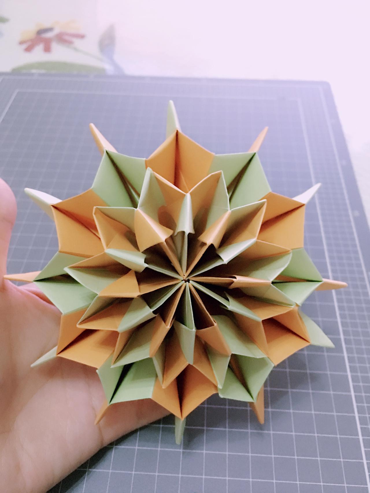 折纸花大全图解满天星