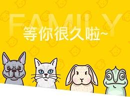 【UI/UX】花火圆桌-宠物领养项目活动(第6组参赛)
