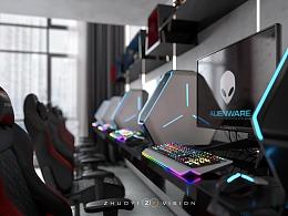 设计表现--27平米游戏工作室