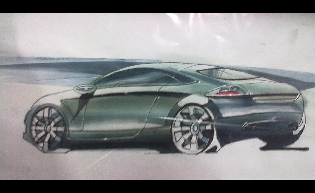 汽车设计手绘|工业/产品|交通工具|彭旭 - 原创作品