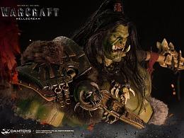 《魔兽》-地狱咆哮 Grom Hellscream 30寸精致雕像