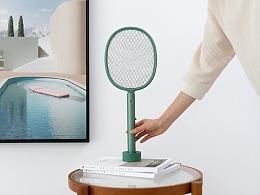 品牌案例丨叁活 叶 立式电蚊拍