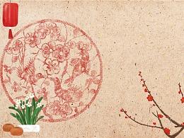 新春春节新年壁纸系列