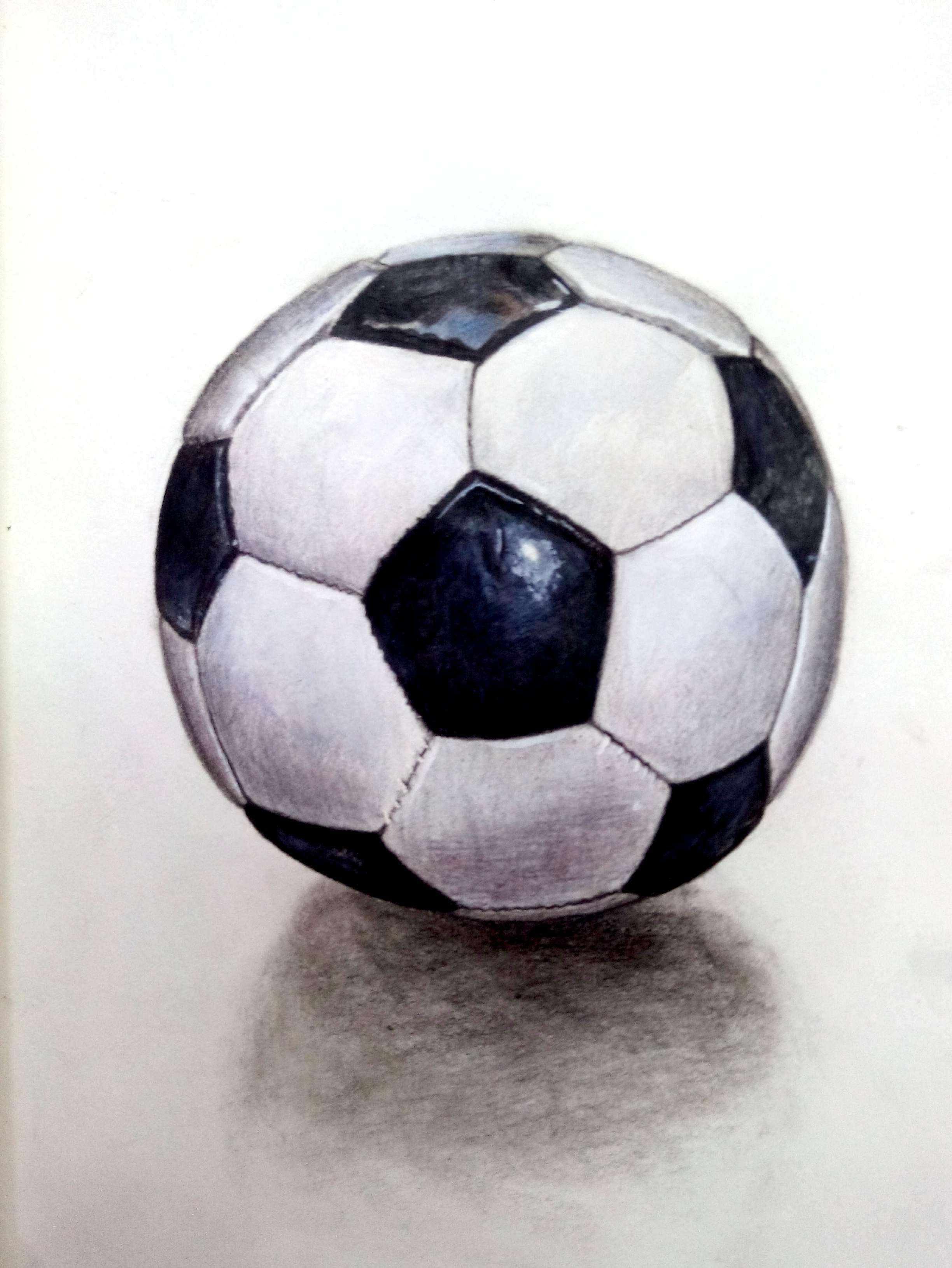 足球|纯艺术|彩铅|art1303 - 原创作品 - 站酷 (zcool)图片